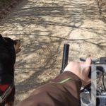Der gestrige Start... Erste Annährungen beim Fahrradschieben